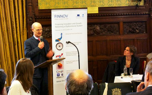 Rt Hon David Willetts MP addressing the FINNOV conference